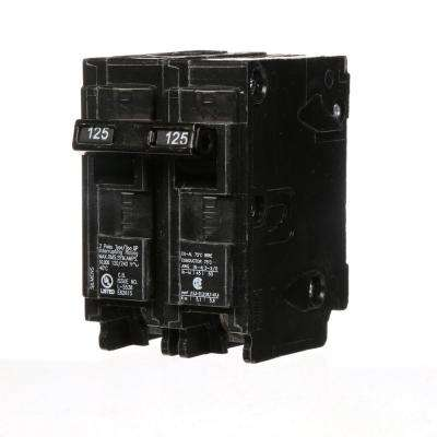 125 Amp Double-Pole Type QP Circuit Breaker