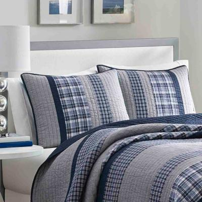Adelson Navy Standard Pillow Cover