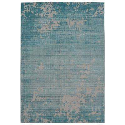 Providence Teal 8 ft. x 10 ft. Area Rug