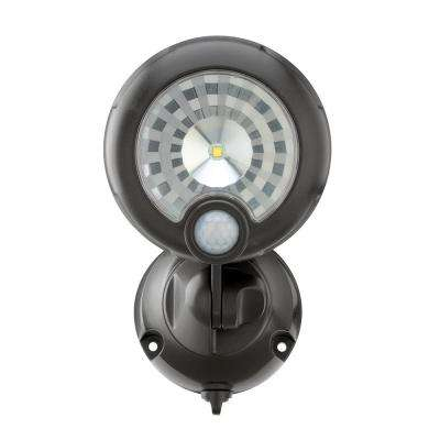 Wireless 120-Degree Bronze Motion Activated Outdoor Integrated LED Security  Spot Light