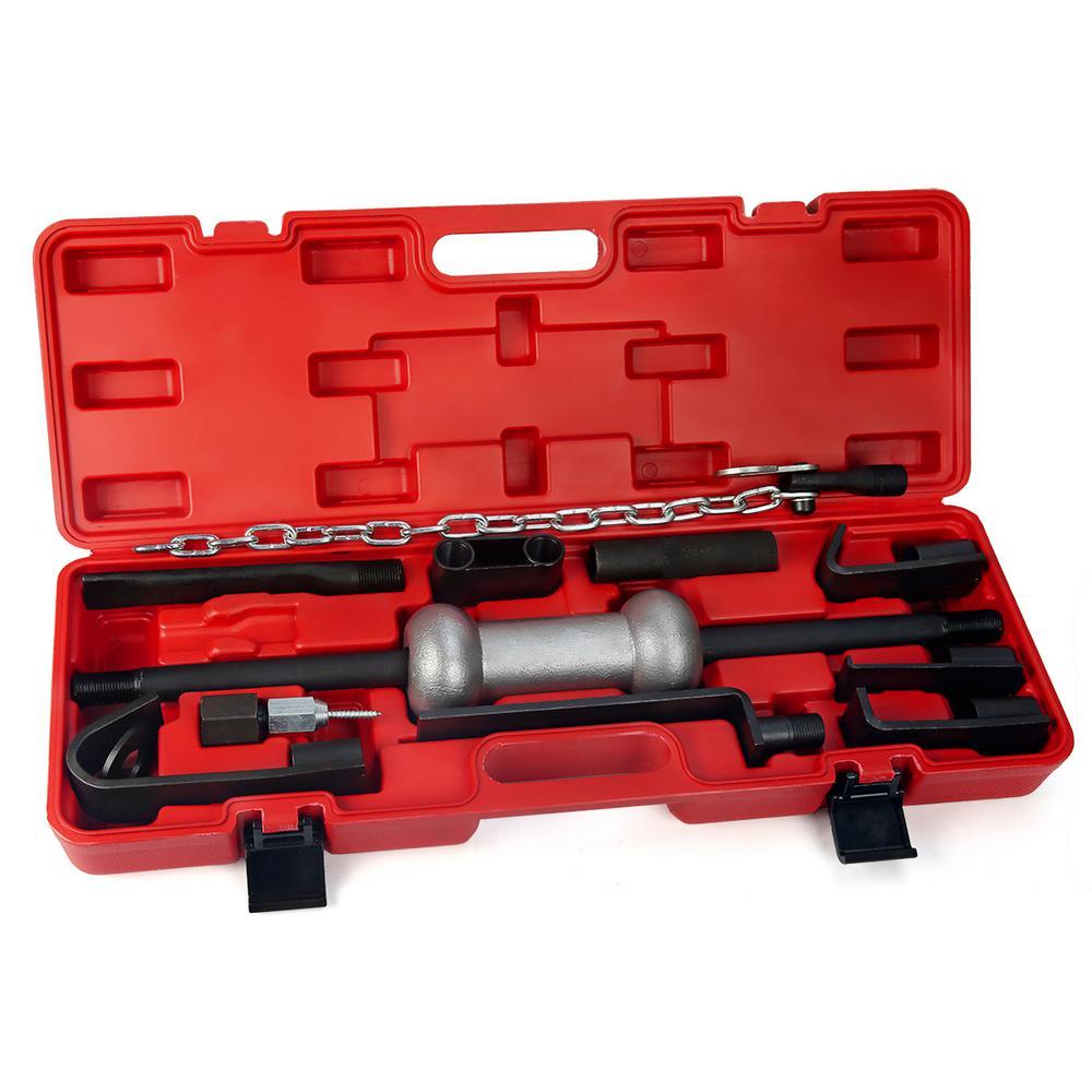 Stark Heavy-Duty Dent Puller Repair Kit with 10 lbs. Slide Hammer Tool