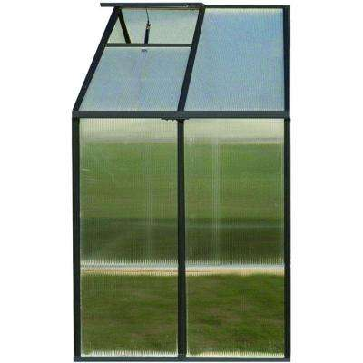 8 ft. x 4 ft. Premium Greenhouse Extension