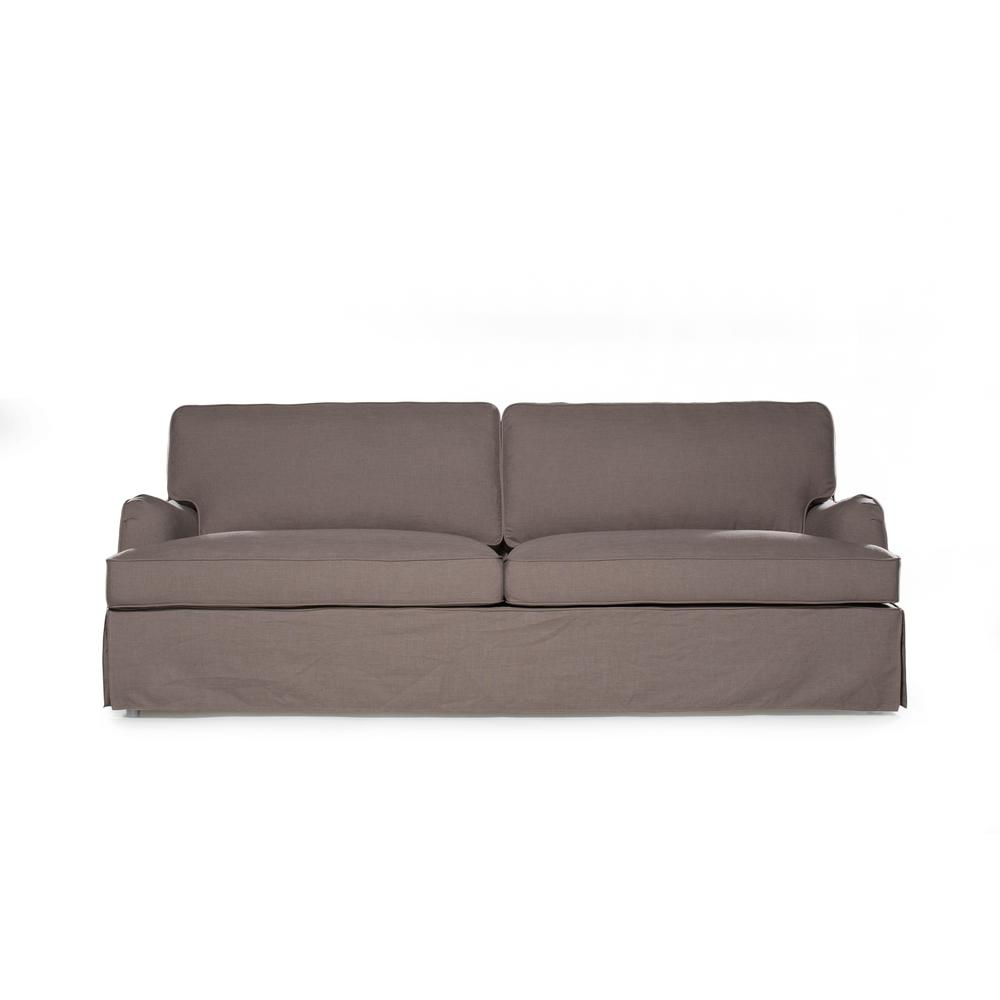 Sofas 2 Go Delaney Fog Sofa