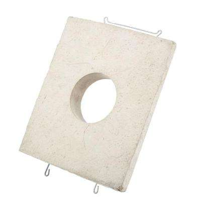 Cream 10 in. W x 12 in. H Light Stone