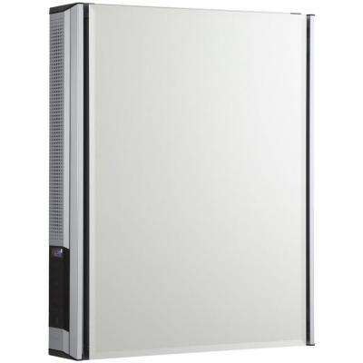 20 in. x 26 in. Surface-Mount Medicine Cabinet with Mirrored Door and StereoStik