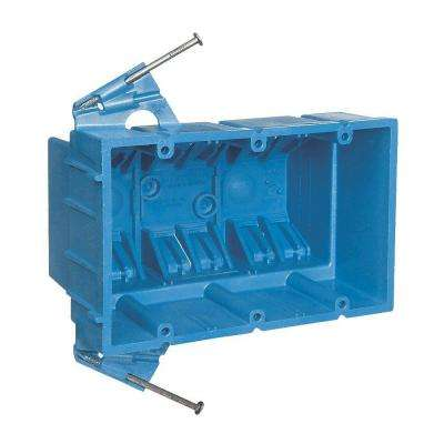 3-Gang 53 cu. in. Electrical Hard Shell Box (Case of 20)