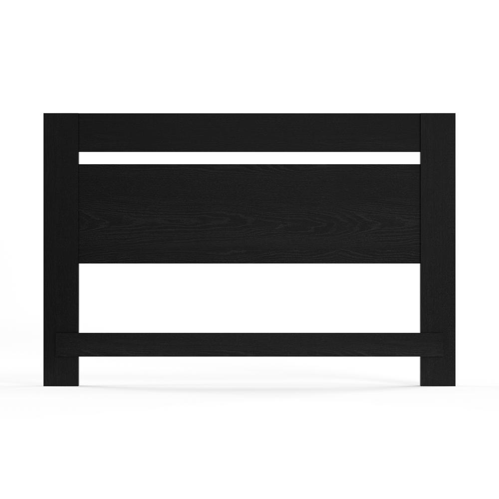 Flexible Black Oak Full/Queen Headboard