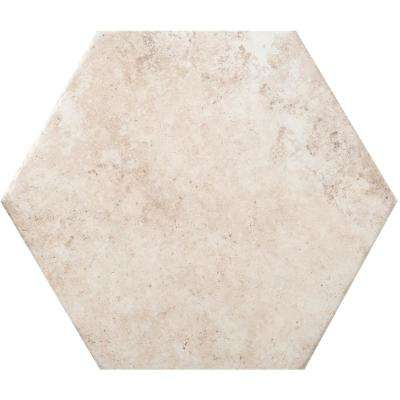 Newberry Bianco 9.45 in. x 10.91 in. Porcelain Floor and Wall Tile (10.46 sq. ft. / case)