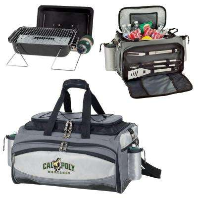 Cal Poly Mustangs - Vulcan Portable Propane Grill and Cooler Tote with Digital Logo