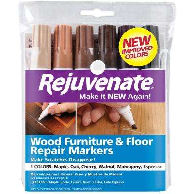 Wood Furniture and Floor Repair Markers