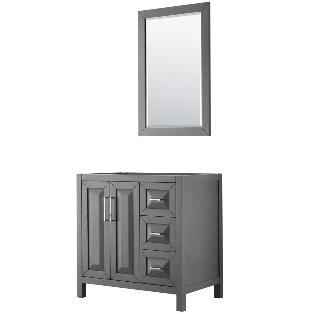 Wyndham Collection Daria 35 In Single Bathroom Vanity
