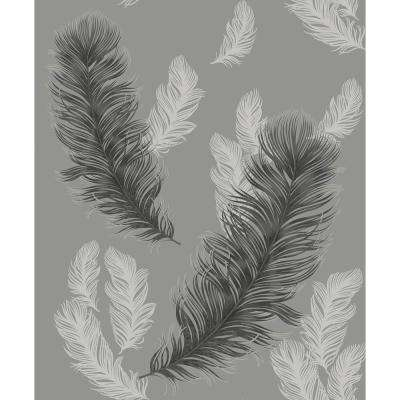 Sirius Gunmetal Non-Pasted Wallpaper, Covers 57.26 sq. ft.