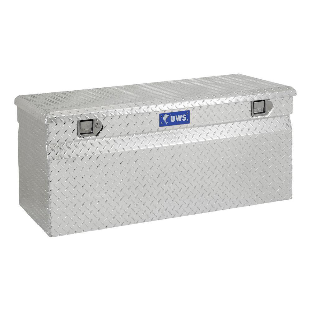 47.875 Silver Aluminum Full Size Chest Truck Tool Box