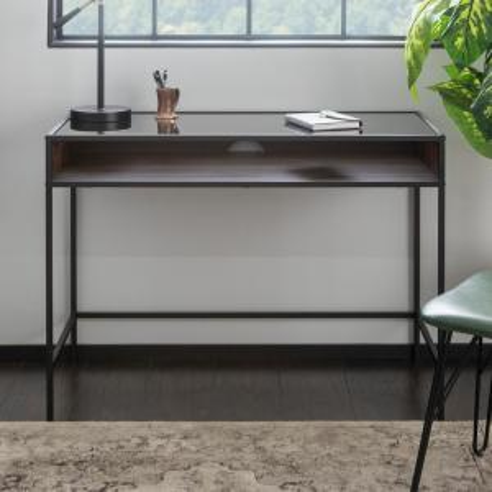 Superb Walker Edison Furniture Company 42 In Metal And Wood Desk Spiritservingveterans Wood Chair Design Ideas Spiritservingveteransorg