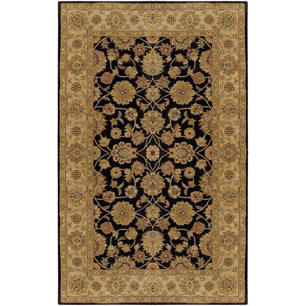 Artistic Weavers Norfolk Charcoal Wool 4 ft. x 6 ft. Area Rug
