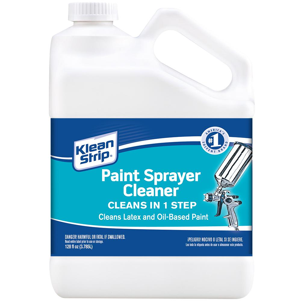 Klean Strip 1 Gal Paint Sprayer Cleaner Gksp750 The Home Depot