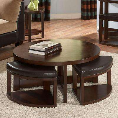 Warm Brown Cherry Coffee Table