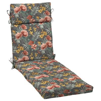 21 in. x 29.5 in. Chaise Lounge Cushion in Phoebe Floral