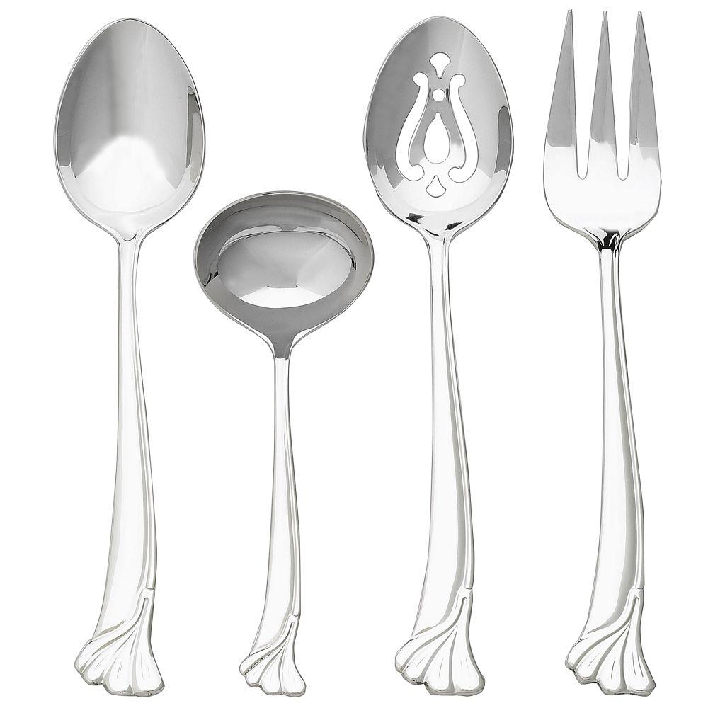 Ginkgo Leaf 4-Piece Hostess Set