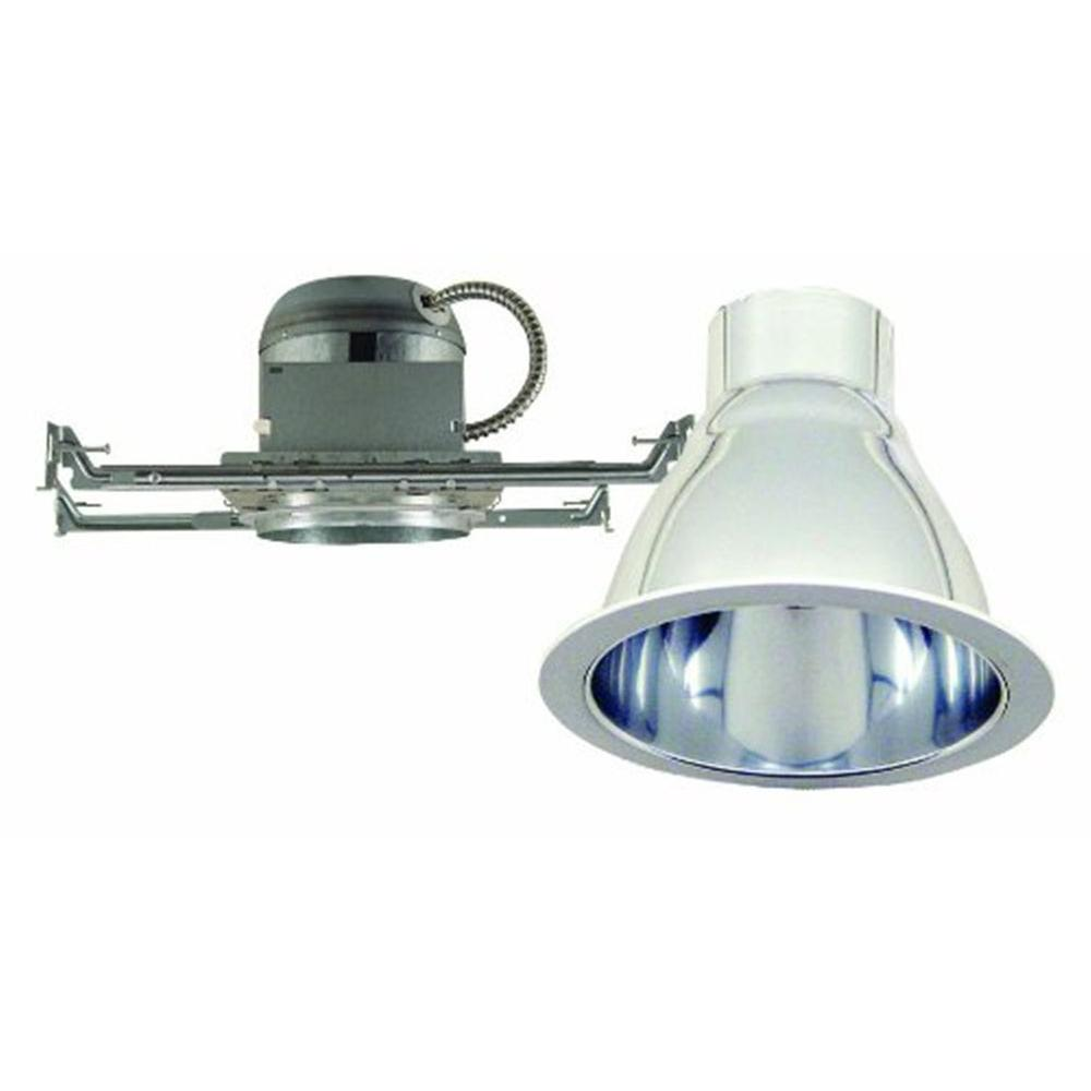 Design House 6 in. Recessed Lighting Kit with White Ring and High Performance Reflector-DISCONTINUED
