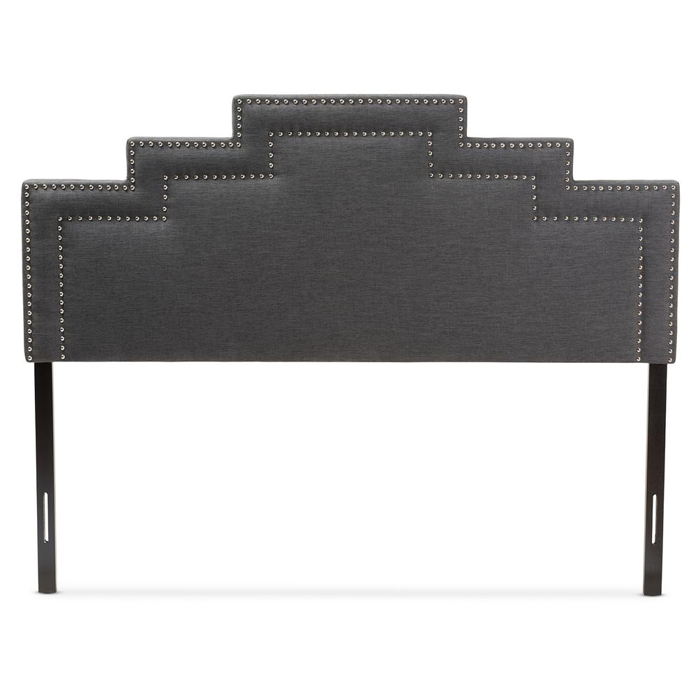 Sophia Dark Gray Queen Headboard