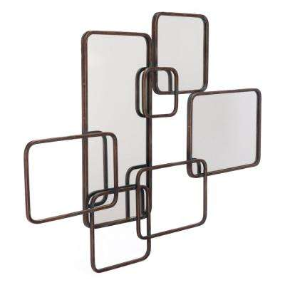 Metal Squares Wall Decor