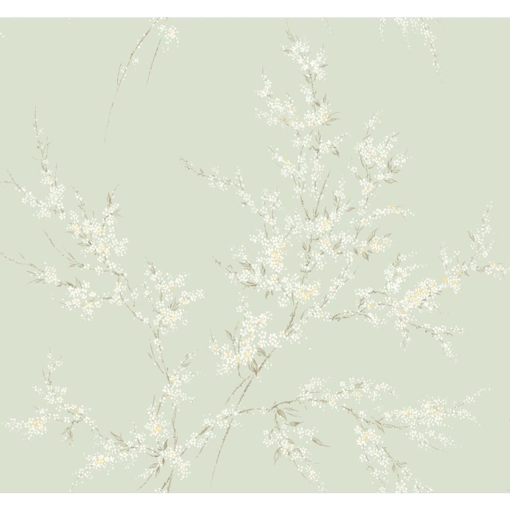 York Wallcoverings Floral Spray Wallpaper