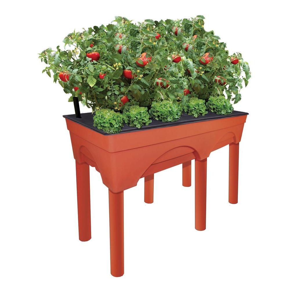 Emsco Big Easy Picker Raised Garden Bed Grow Box with Stand