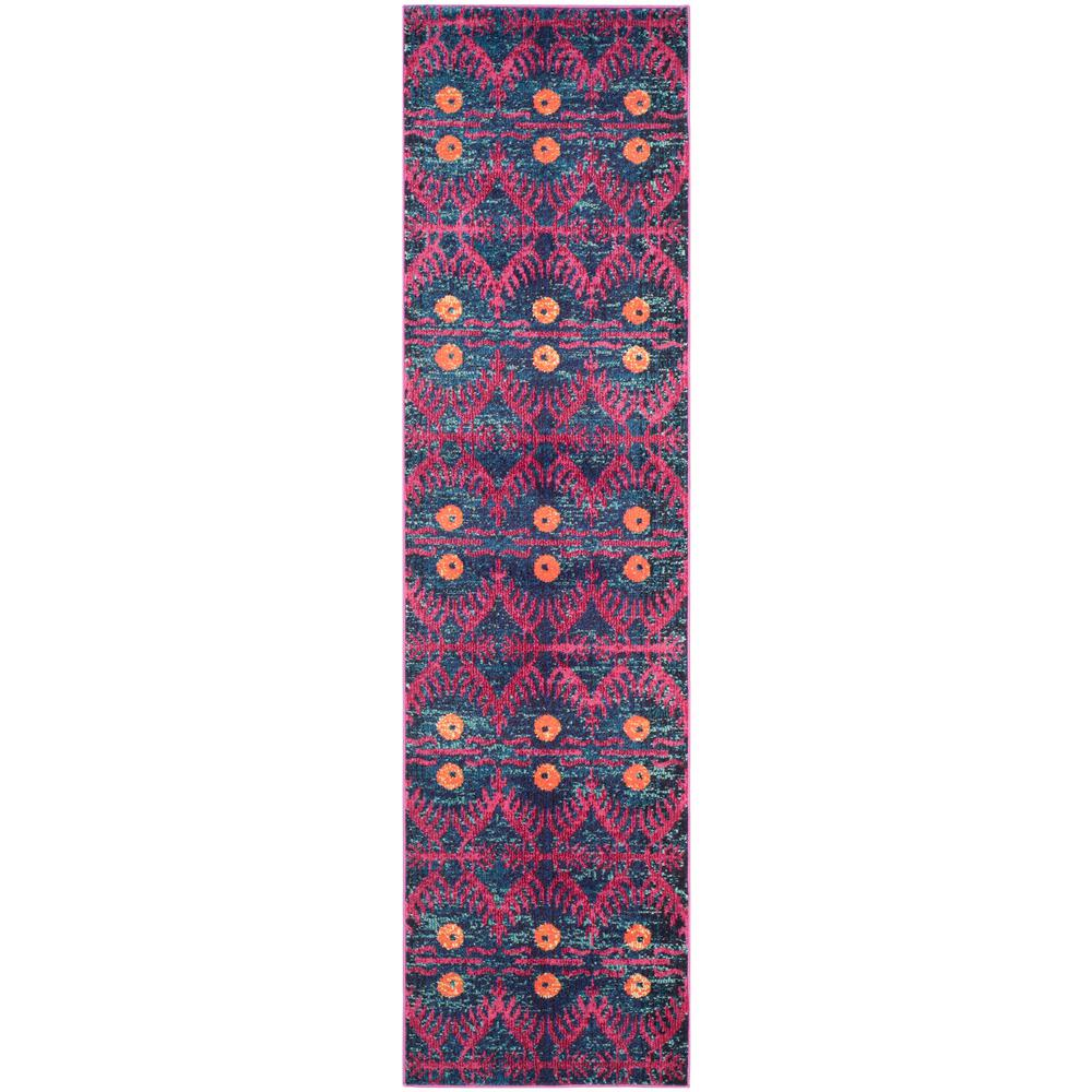 Safavieh Monaco Pink/Multi 2 ft. x 6 ft. Runner Rug