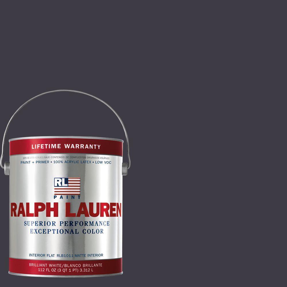 Ralph Lauren 1-gal. Embassy Purple Flat Interior Paint