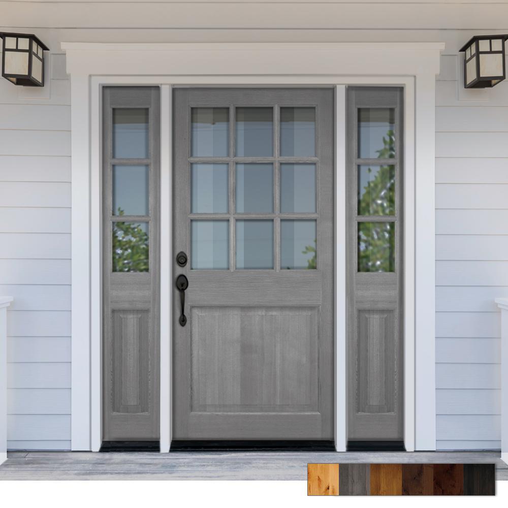 Classic Front Doors Exterior Doors The Home Depot