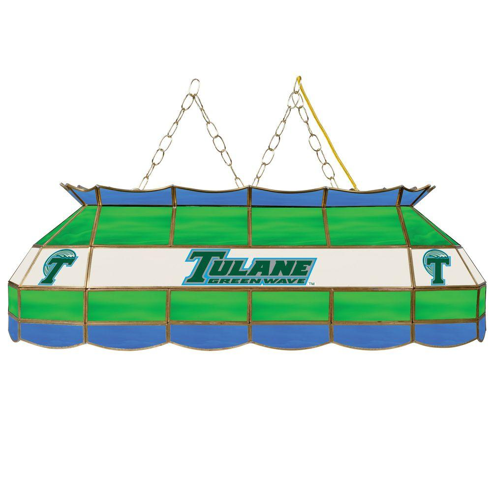 Trademark Tulane University 40 In. Gold Tiffany Light