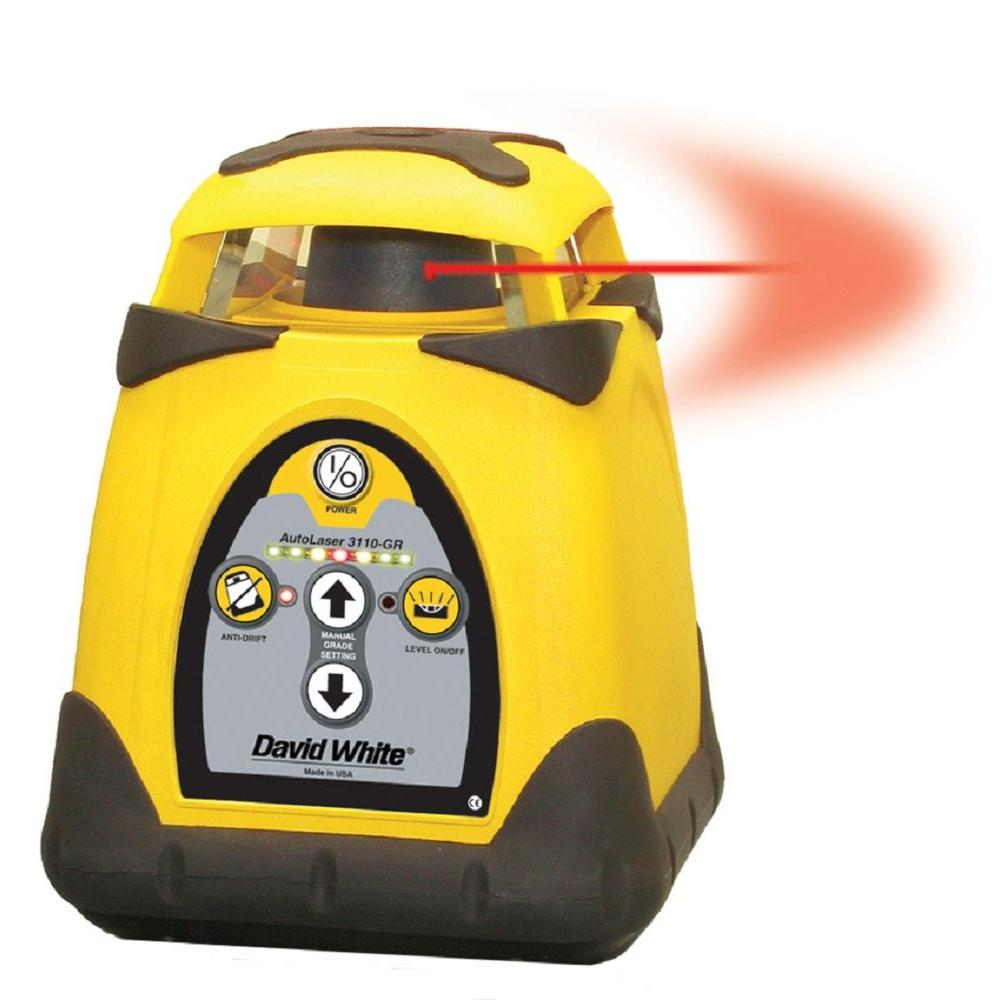 CST/Berger David White Electronic Self-Leveling Rotary Laser