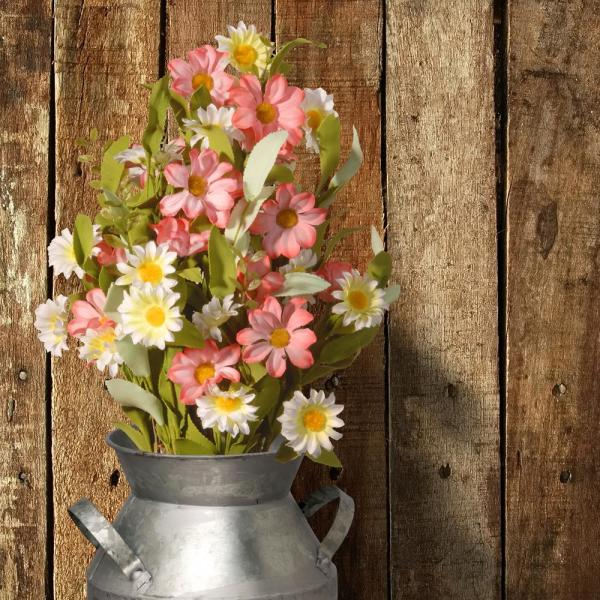 16 in. Spring Floral Bouquet