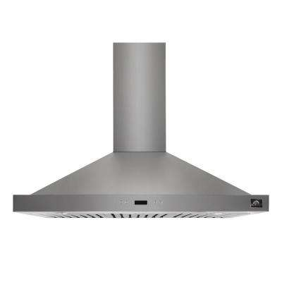 Siena 36 in. Convertible Wall Mount Range Hood in Stainless