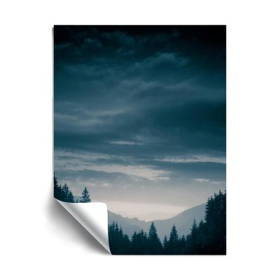 Blue Mountains IV Landscapes Removable Wall Mural