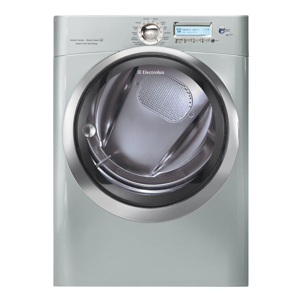 Electrolux Wave-Touch 8.0 cu. ft. Gas Dryer with Steam in Silver Sands