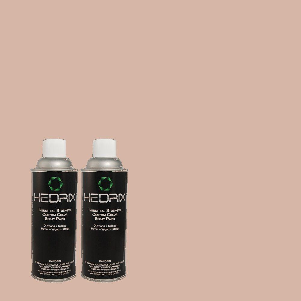 Hedrix 11 oz. Match of 180E-3 Plymouth Notch Gloss Custom Spray Paint (2-Pack)