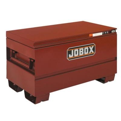 e48a64d49a3 48 in. Long Heavy-Duty Steel Chest with Site-Vault Security System