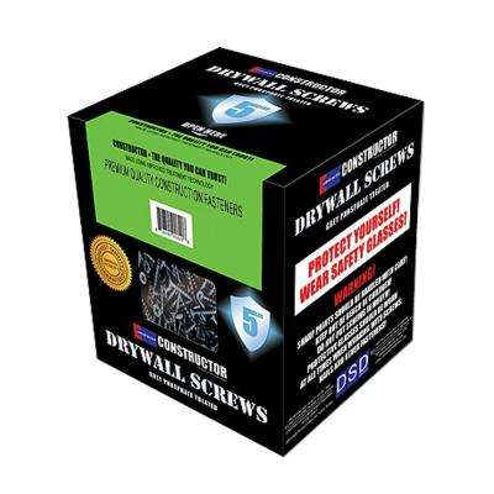 #8 x 3 in. Phillips Bugle-Head Fine Thread Sharp Point Drywall Screw (5 lb.-Pack)