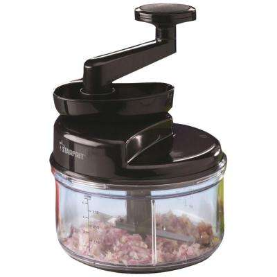 Manual Food Processor in Black