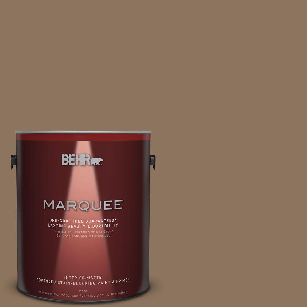 1 gal. #N260-6 Outdoor Cafe One-Coat Hide Matte Interior Paint