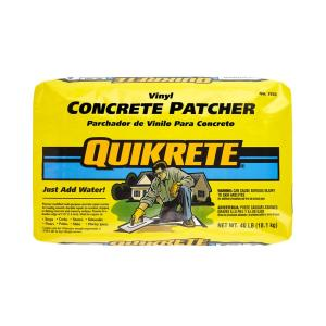 Quikrete 40 Lb Vinyl Concrete Patcher 113340 The Home Depot