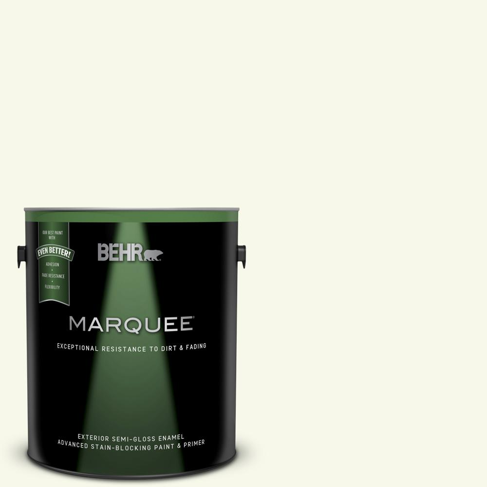Behr Marquee 1 Gal Bxc 86 Elderflower Semi Gloss Enamel Exterior Paint And Primer In One 545001 The Home Depot
