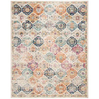 Madison Cream/Multi 9 ft. x 12 ft. Area Rug
