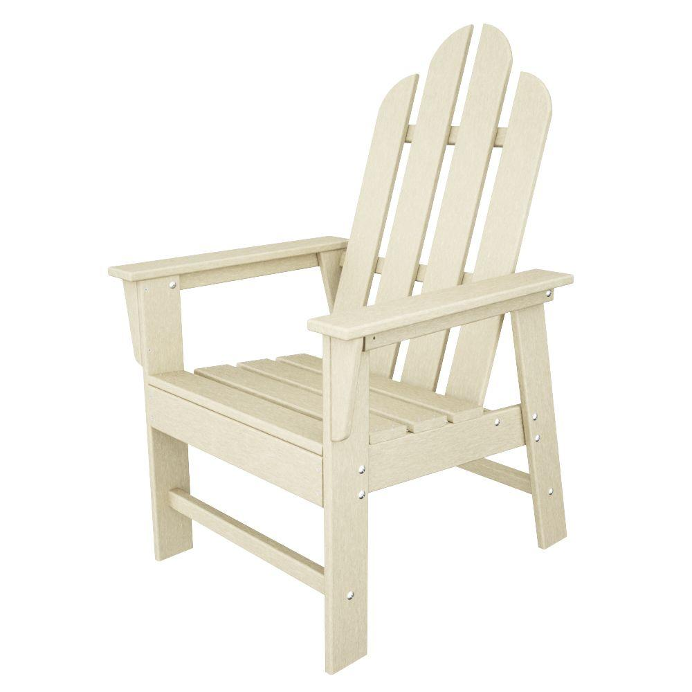 Charmant POLYWOOD Long Island Sand All Weather Plastic Outdoor Dining Chair