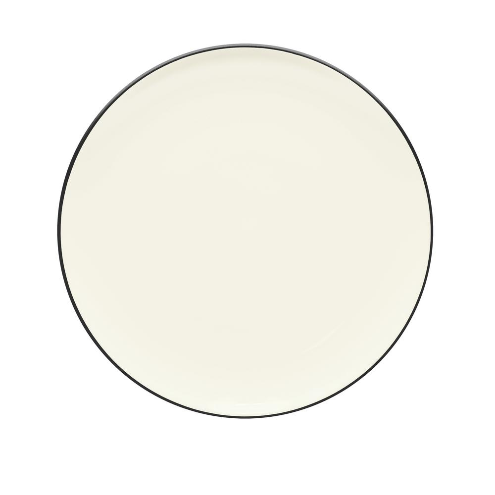 Colorwave 10.5 in. Graphite Coupe Dinner Plate