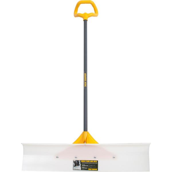 36 in. Industrial Grade Snow Pusher with Versa Grip