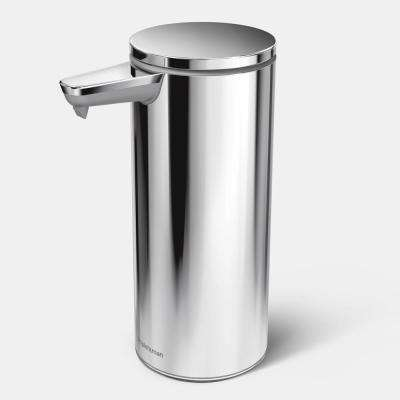 9 oz. Rechargeable Sensor Soap Pump in Polished Stainless Steel