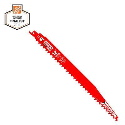 12 in. Carbide Pruning and Clean Wood Cutting Reciprocating Saw Blade